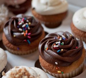 Cupcakes sin levadura