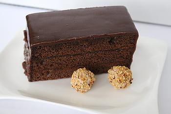 Bizcocho de chocolate sin batidora