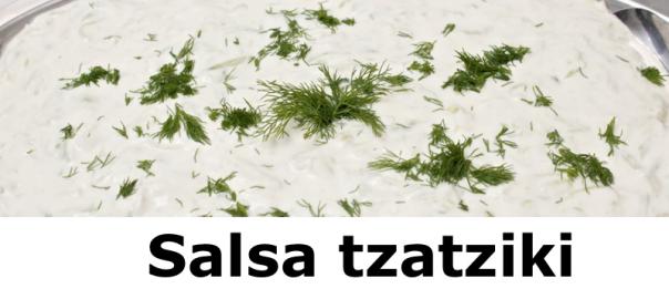 Salsa tzatziki Sin Yogur
