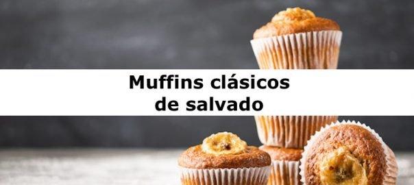 Muffins clásicos de salvado